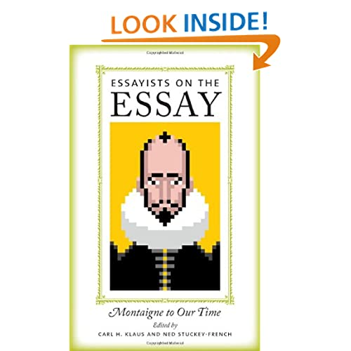 essay from montaigne selection The essays of montaigne from wikisource jump to: navigation, search for works with similar titles, see the essays of michel de montaigne.