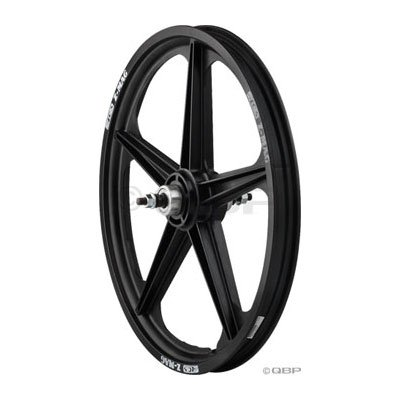 ACS Z Mag Rear Wheel 5 Spoke, 20 x 1.75, Black