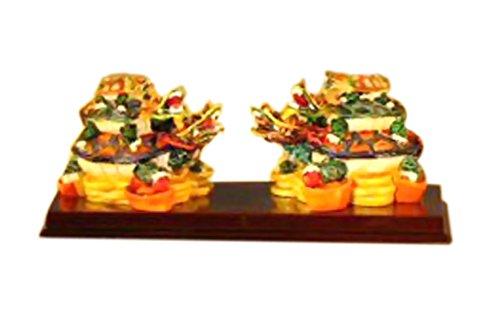 [Bonsaiboy Piggyback Turtle Miniature Figurines 5.0 x 2.0 x 2.0] (Piggy Back Costume Baby)