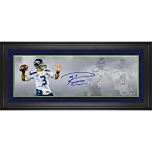 Framed Limited Edition Russell Wilson Seattle Seahawks Autographed Super Bowl XLVIII... by Sports Memorabilia