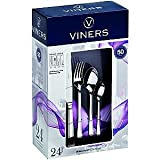 Viners Bead 24 Piece Cutlery Set Silver