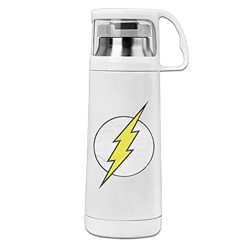 [KAKA Flash Logo Vacuum Insulated Stainless Steel Tumbler White] (Custom Costumes Makers Los Angeles)