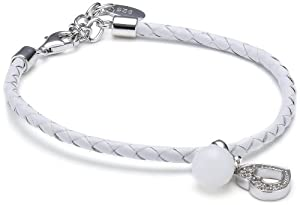 Esprit - S.ESBR91098A170 - Bracelet Femme - Argent 925/1000 - Cuir