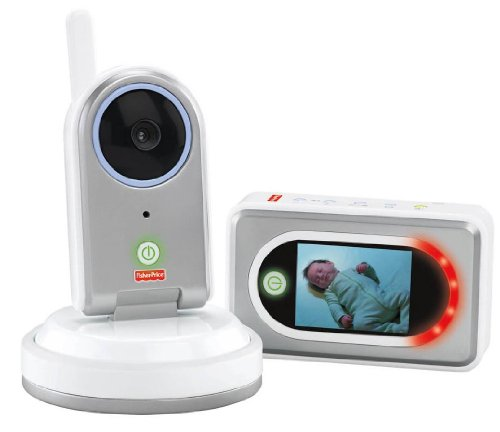 Fisher-Price Take Along Cam Video Monitor, Grey/White