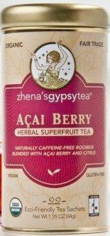 Acai Berry-22 Ct Brand: Zhenas Gypsy Tea