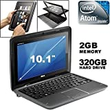 """Dell Inspiron Duo Convertible Tablet with Intel Dual Core 1.5GHz, 10.1"""" Multi-touch Screen with WebCam, 2GB DDR3 Memory, 320GB Hard Drive, Windows 7 Home Premium"""