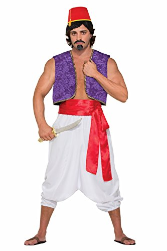 [Men's Desert Prince Full Costume (One Size)] (Arabian Costumes For Men)