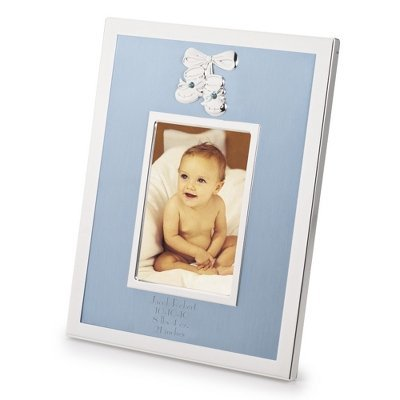 Personalized Baby Boy Picture Frame front-743430
