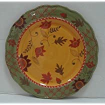 American Atelier Bohemian Autumn Dinnerplate