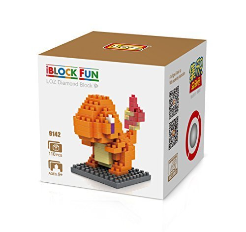 GRHOSE-LOZ-Diamond-Blocks-Nanoblock-Pokemon-Charmander-Educational-Toy-110pcs