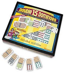 Premium D15 Dominoes