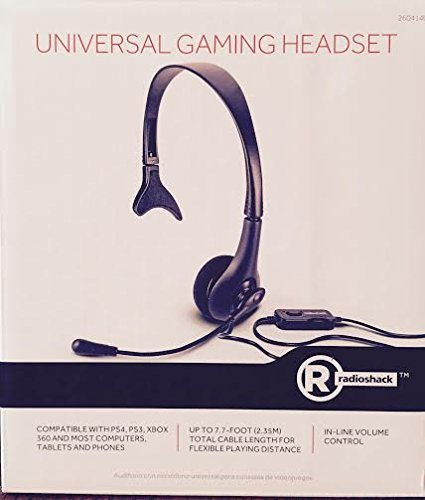 Radio Shack Universal Gaming Headset