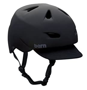 Bern Brentwood Summer Helmet with Visor by Bern