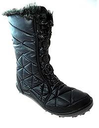 Columbia Womens Powder Summit Waterproof Snow Boots Black