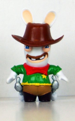 """Rabbids - Travel in Time - 2.75"""" Figure - Cowboy"""