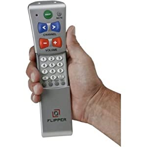 Flipper Big Button Remote for 2-Devices