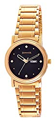 Sonata Analog Black Dial Mens Watch - 1141YM14
