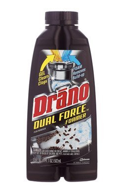 Drano Dual Force Foamer Clog Remover-17 oz. (Blowout Drain Cleaner compare prices)