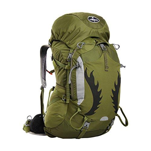Grande capacité sac d'escalade en plein air / Voyage imperméable à dos-rouge 65L