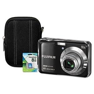 Fuji FinePix AX650 Digital Camera Bundle, 16MP (FUJ600012709) Category: Standard Digital Cameras