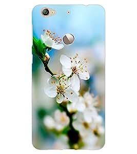 ColourCraft Beautiful Flowers Design Back Case Cover for LeEco Le 1S