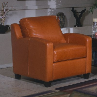 cheap chelsea deco leather chair finish honey oak color empire butternut furniture set