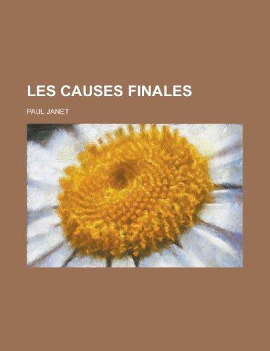 Les Causes Finales