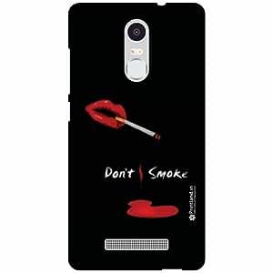 Printland Back Cover For Xiaomi Redmi Note 3 - don't smoke Designer Cases