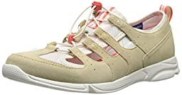 Rockport Women\'s Cycle Motion Washable Bungie Water Shoe, New Beige/Eggnog Washable, 7.5 M US