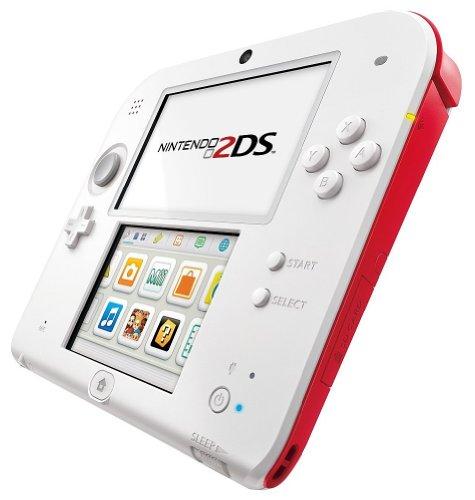 【欧州版】ニンテンドー2DS ホワイト×レッド (Nintendo2DS WHITE×RED) ※European Version