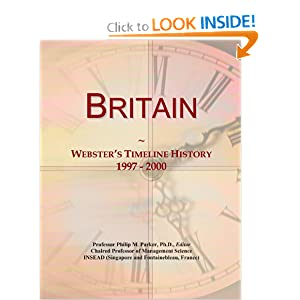 Example: Webster's Timeline History, 1997 Icon Group International