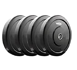 KRAZY RUBBER WEIGHT LIFTING PLATES 4 KG (2 KG EACH)