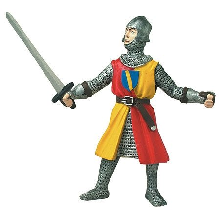 Buy Knight with Sword & Red and Yellow Robe by Safari