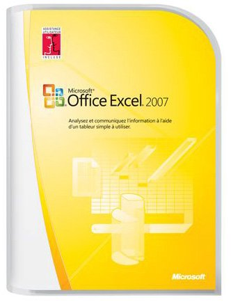 Microsoft Office Excel 2007 - Ensemble Complet - 1 Pc - Cd - Win - Français
