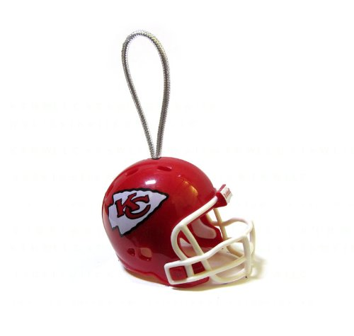 Official NFL National Football League Licensed Licensed Team Helmet Christmas Tree Ornaments - Kansas City Chiefs (Chief Aj compare prices)