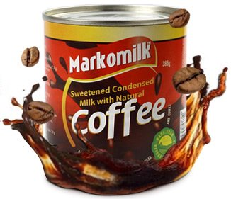 Sweetened Condensed Milk with Coffee, 14 Ounce / Can (pack of 4)