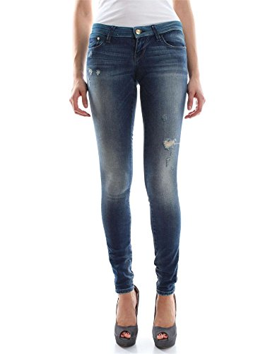 ONLY 15119570 COTAL L.34 MEDIUM BLUE DENIM JEANS Donna MEDIUM BLUE DENIM 30