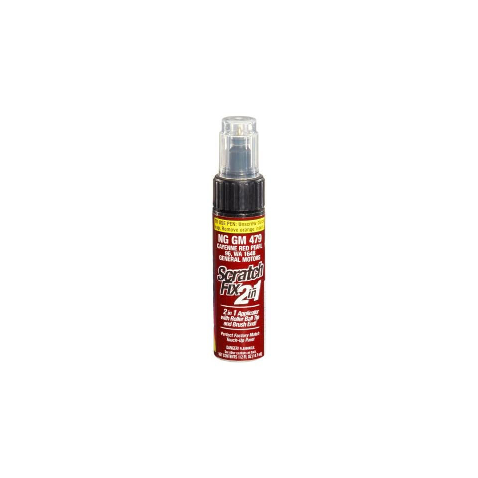 Dupli Color NGGM479 Cayenne Red Metallic General Motors Exact Match Touch up Paint   0.5 oz.