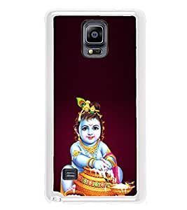 ifasho Lord Krishna stealing curd Back Case Cover for Samsung Galaxy Note 4