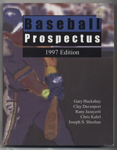 Baseball Prospectus, 1997 Edition Gary Davenport, Clay Jazayer Huckabay
