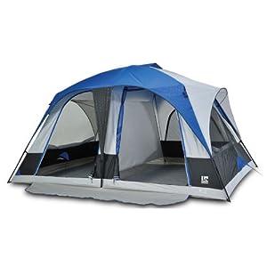 Igloo Hayden Creek II 2-Room Dome Tent (8-Person), Blue by Igloo