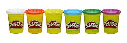Play-Doh - 6 colores primarios (Hasbro B6755EU4)