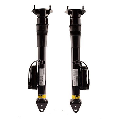 DEDC Rear Air Shock Absorber Suspension Air spring Strut Fit For Mercedes Benz W164 ML GL Class with ADS - Pair