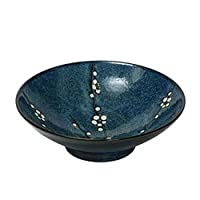 Japanese Blue Namako Blossoms Bowl