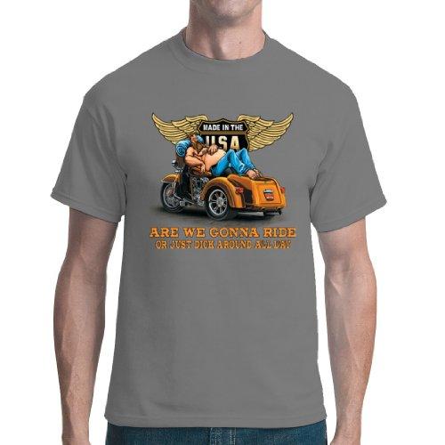 Im-Shirt - Top - Basic - Maniche corte  - Unisex - Adulto Grau XL