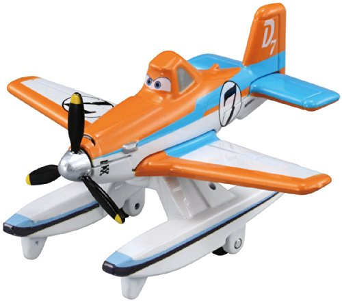 "Takara Tomy Tomica Disney Planes Fire & Rescue P-15 Dusty ""Strut Jetstream"" Crophopper (standard type) - 1"