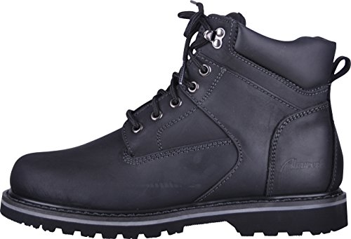 ALM di da uomo e suola scarpa da donna/Boot profilo, 100% in vera pelle, impermeabile, robusto, durevole e resistente all' abrasione nero 40