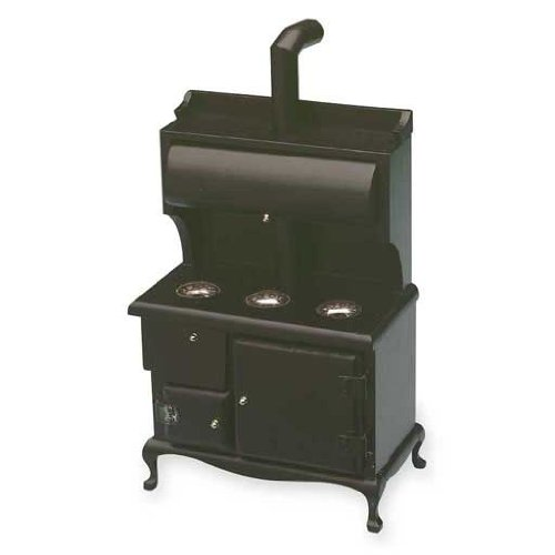 Dollhouse Miniature Wood Stove front-407285