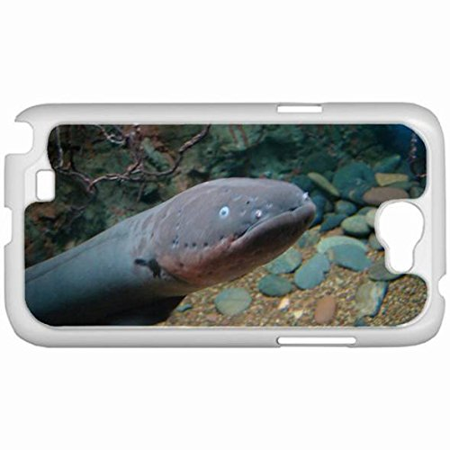 Custom Fashion Design Samsung Galaxy Note 2 Sii Back Cover Case Personalized Customized Samsung Note 2 Diy Gifts In Electric Eel White