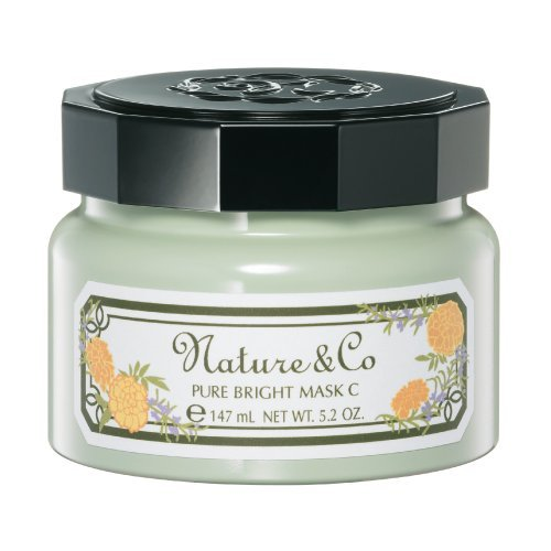 Nature&Co Pure Bright Mask C 150G. [Get Free Face Scrubber]
